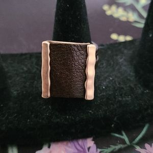 Leather Like Ring